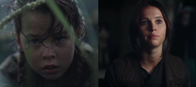 Rogue One | Jyn Erso foi interpretada por três atrizes