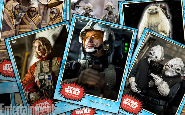 Rogue One | Cards revelam novos personagens