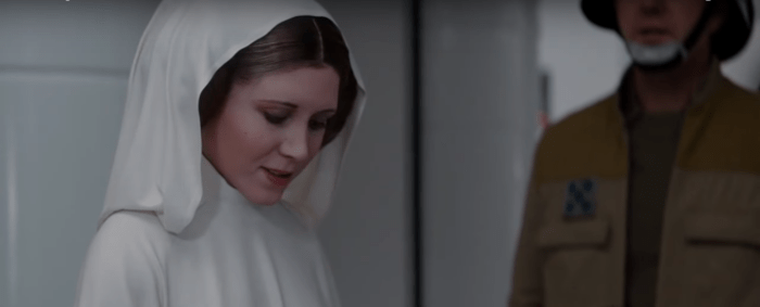 Rogue One | A magia para recriar Tarkin e Leia no filme