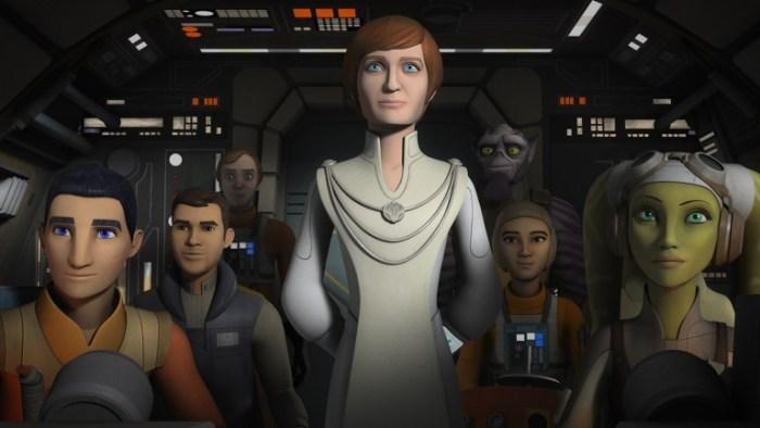 Rebels | Atriz retorna ao papel de Mon Mothma na série animada
