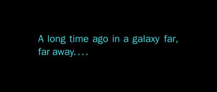 Os Últimos Jedi | Detalhes sobre o letreiro de abertura
