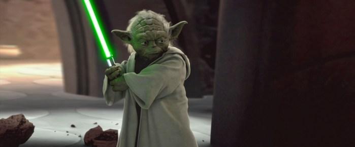 Revelado o destino do sabre de luz verde de Yoda