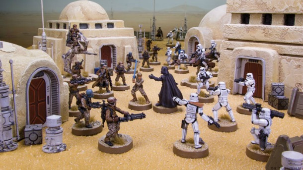 Fantasy Flight anuncia o novo jogo de miniaturas Star Wars: Legion