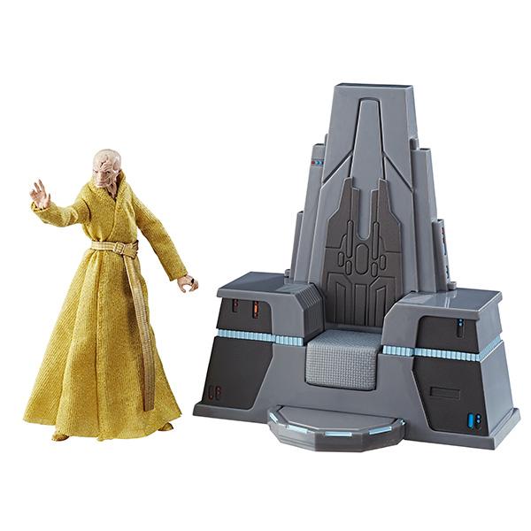 Os Últimos Jedi | Descrição de action figure dá mais detalhes sobre Snoke
