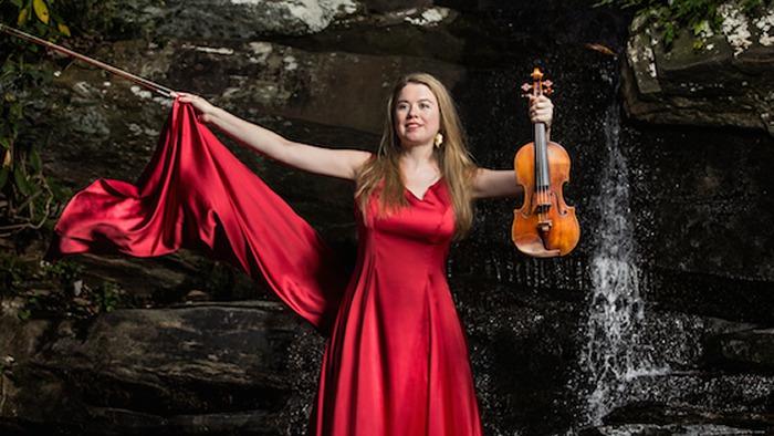 Martes 24 de Mayo: II CONCIERTO de TEMPORADA DE ABONO: LARA ST. JOHN violín y MATT HERSKOWITZ piano