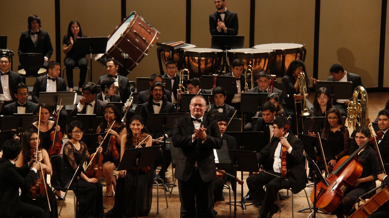 Orquesta Sinfónica del CNM – Perú @ Auditorio Colegio Santa Úrsula
