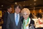 Pilar con el Subsecretario de Fomento