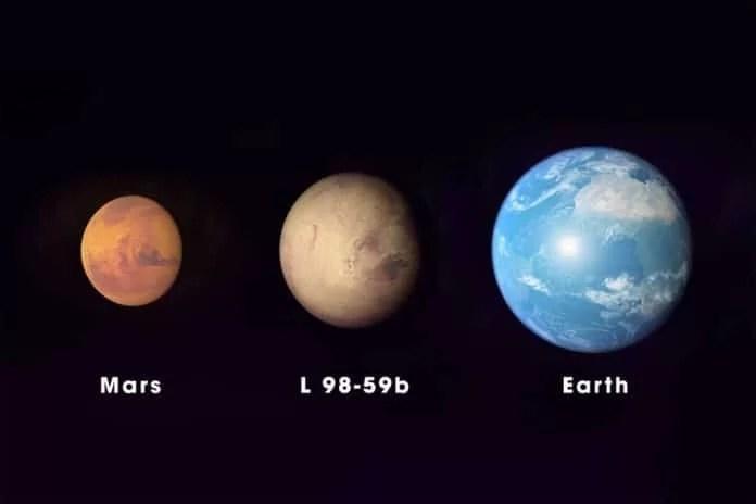 NASA descobre três exoplanetas com tamanhos semelhantes à Terra
