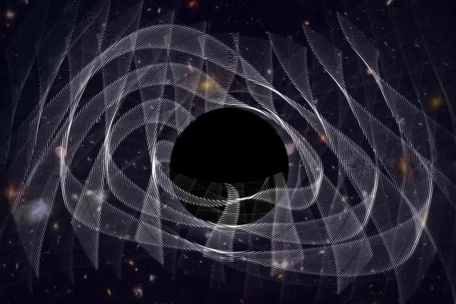 Cientistas ouvem o 'barulho' de um buraco negro recém-nascido pela primeira vez
