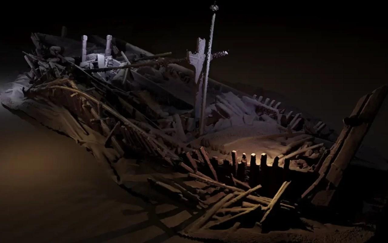 Dezenas de naufrágios milenares descobertos no Mar Negro