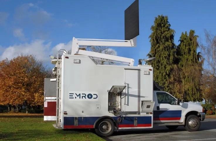 A Emrod, na Nova Zelândia, desenvolveu um método de transmissão seguro de energia sem fio para longas distâncias.