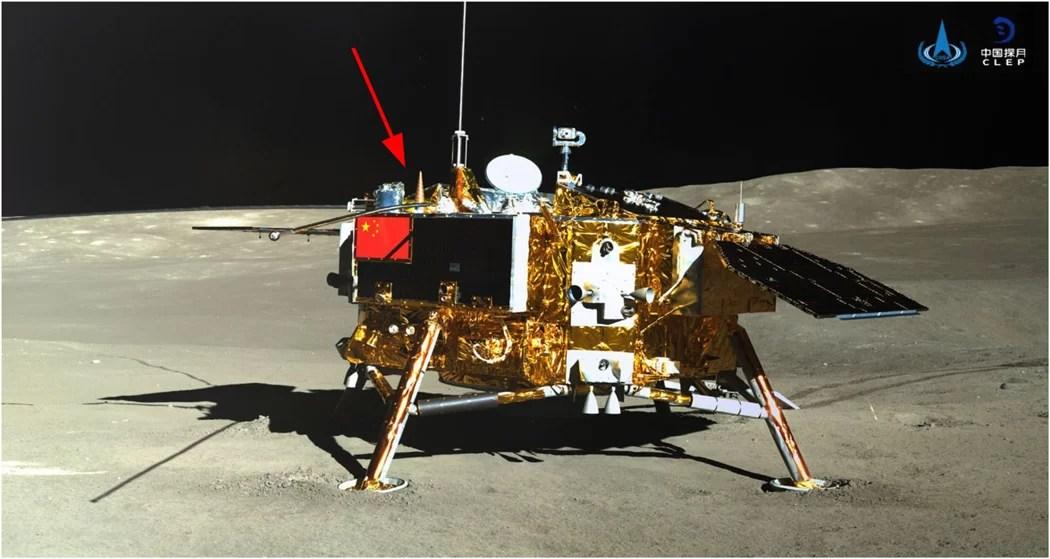 níveis de radiação na lua