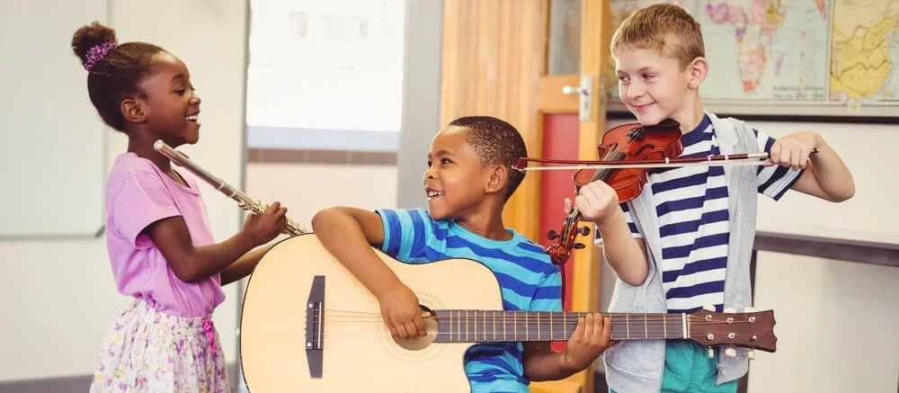 Crianças e música