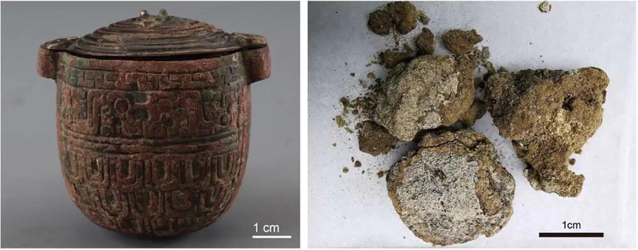 Creme facial de quase 3.000 anos