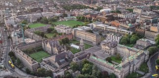 Trinity College Dublin Irlande
