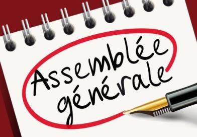 Assemblée Générale de la SSW le mercredi 22 janvier 2020 à 20H