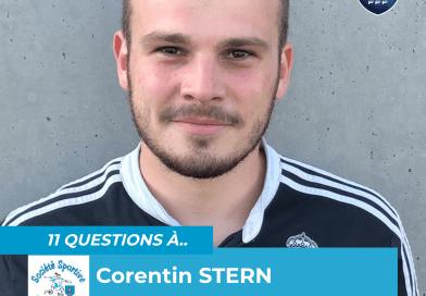 Onze questions à… Corentin STERN