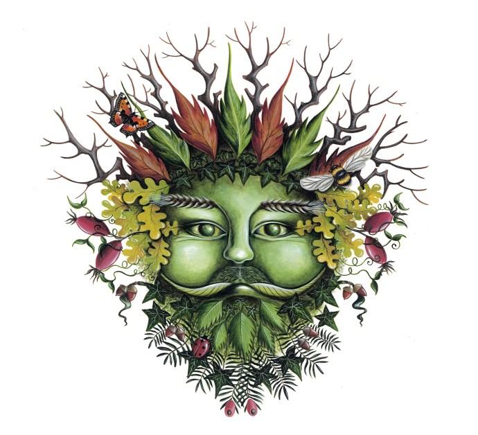 Cover art - Wassail EP - Green Man