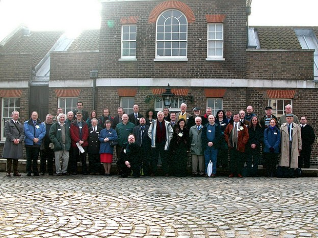 The first ever SHA meeting at Greenwich, 2003