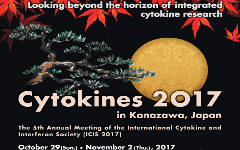Almost double the Abstract Submission for Cytokines 2017 in Kanazawa