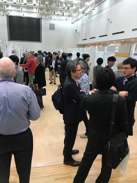 Lively Poster Sessions at Cytokines 2017 in Kanazawa