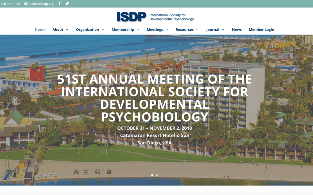 International Society for Developmental Psychobiology hires Joan Oefner as Managing Director
