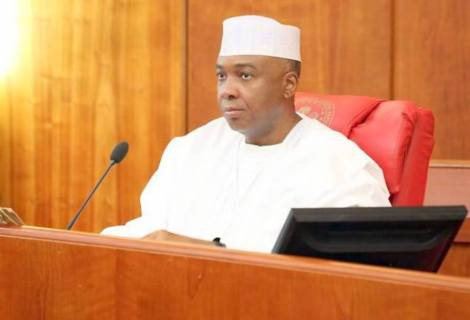 """Be Guided!"" Saraki Says No Link To New Party Formed By Ex-Aide"