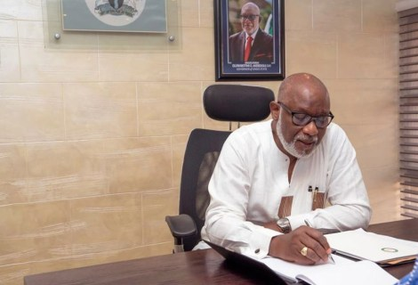 Akeredolu Orders All Ondo Govt Officials Who Have Purchased Nomination Forms To Resign