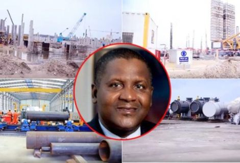 Untold Story Of $11Bilion Dangote Refinery As Things Take Shape