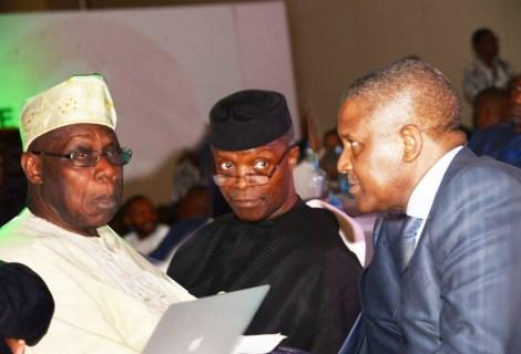 All The Details As Osinbajo, Mbeki, Dangote, Obasanjo Champion How To Attain Africa's Prosperity