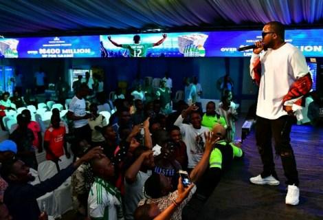 All The Exciting Details As Ice Prince, DJ Neptune Delight Fans At Super Eagles Dome