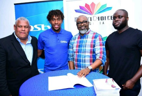 All The Details As Alex Iwobi Becomes MultiChoice Ambassador