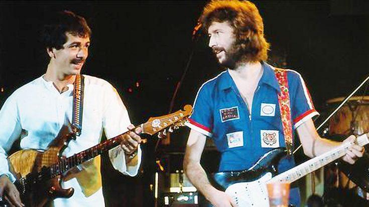 Eric Clapton And Carlos Santana Team Up For Legendary