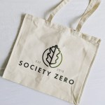zero waste reusable large tote bag by society zero zero waste shop in glasgow