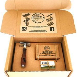 plastic free naked necessities shaving safety razor kit scotland zero waste glasgow society zero
