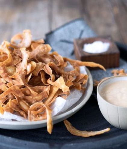 potato peelings crisps zero waste food society zero glasgow