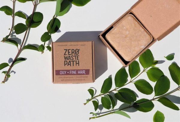 plastic free shampoo and conditioner for oily and fine hair society zero glasgow