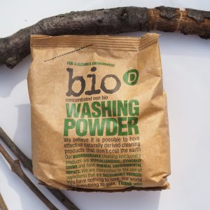 Bio D Washing Powder 1kg eco friendly laundry powder society zero glasgow