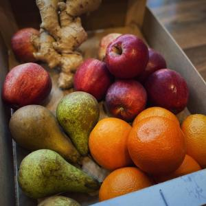 plastic free fruit box zero waste glasghow