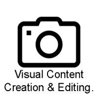 Visual content creation professionele hulp