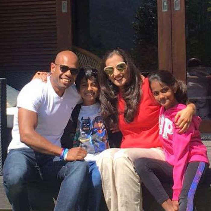 Aditya Ghosh Family