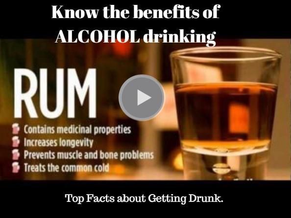 drinking alcohol benefits