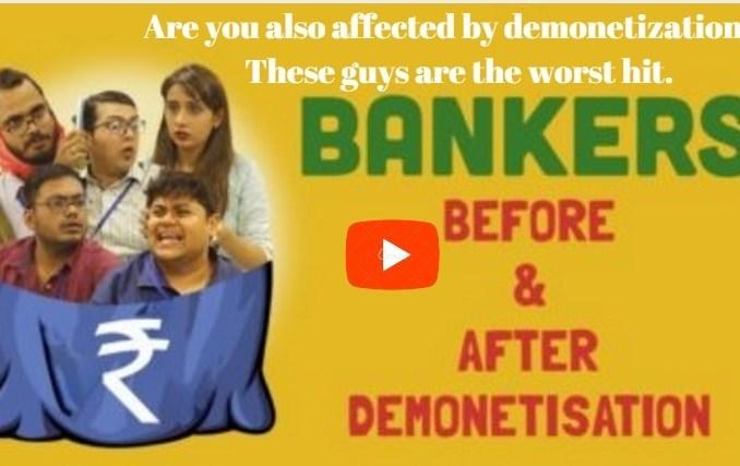 bankers demonetization