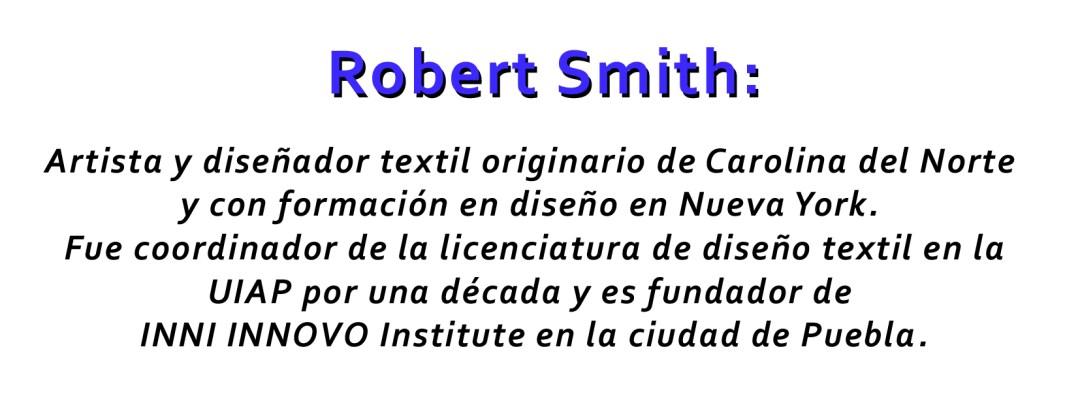 El origen del diseñador y artista Robert Smith