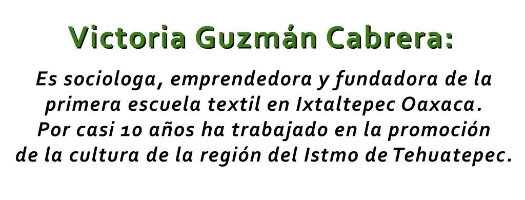 Victoria Guzmán Cabrera