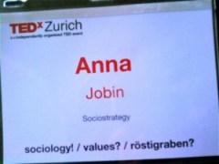 TEDxZurich AnnaJobin
