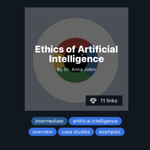 Ethics of AI on Refind (screenshot)