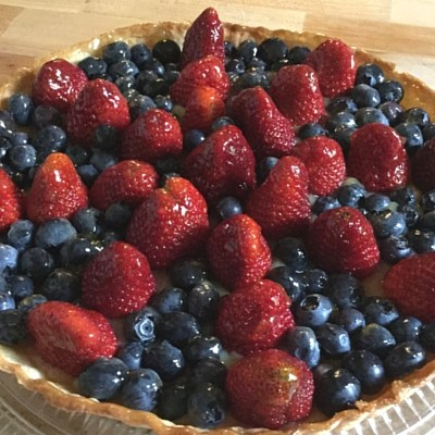 Jane's Lemon Curd Tart With Fresh Fruit