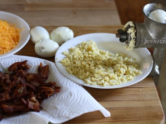 Bacon Egg and Cheese Spread sockbox10.com