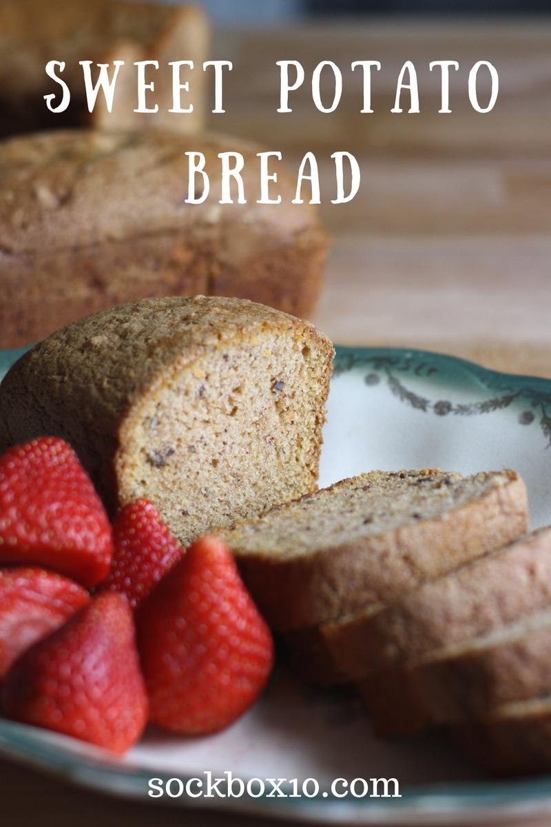 Sweet Potato Bread sockbox10.com